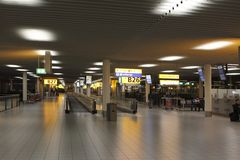 Departures from Schiphol Stock Image