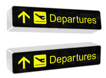 Free Departures Sign Stock Photo - 11810550