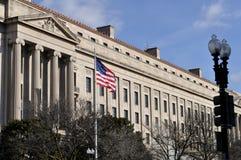 Depatment de la justicia de Washington Fotos de archivo libres de regalías