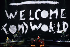 Depeche方式三角洲机器游览 免版税图库摄影