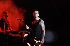 Depeche Mode Imágenes de archivo libres de regalías