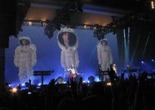 Depeche Mode au concert Photo stock