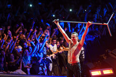 Depeche Mode in concert Royalty Free Stock Photo