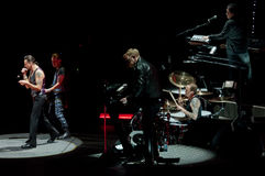 Depeche Mode in concert Stock Photography