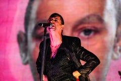 Depeche Mode concert Stock Image