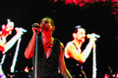 Depeche Mode concert Stock Photo