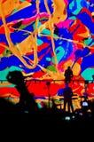 Depeche Mode concert in Saint-Petersburg Stock Photos
