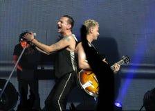 Depeche Mode Dave et Martin Image libre de droits