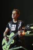 Depeche Mode im Konzert an der Minsk-Arena am Freitag, den 28. Februar 2014 in Minsk, Weißrussland Lizenzfreie Stockbilder