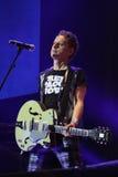 Depeche Mode im Konzert an der Minsk-Arena am Freitag, den 28. Februar 2014 in Minsk, Weißrussland Stockfotos