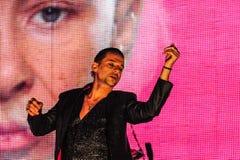 Depeche Mode-Konzert Lizenzfreie Stockbilder