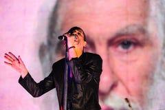 Depeche Mode-Konzert Lizenzfreie Stockfotos