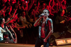 Depeche Mode Live Lizenzfreies Stockbild