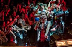 Depeche Mode Live Lizenzfreie Stockfotografie