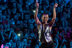 Depeche Mode Live Stockbilder