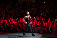 Depeche Mode Live Lizenzfreies Stockfoto