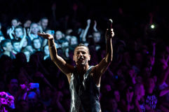 Depeche Mode Live Lizenzfreie Stockfotos