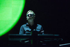 Depeche Mode Live - Andy Fletcher Stockfotografie
