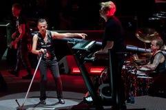Depeche Mode Live Stock Image