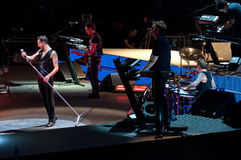 Depeche Mode Live Stock Image