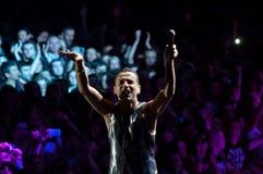 Depeche Mode Live Royalty Free Stock Photos
