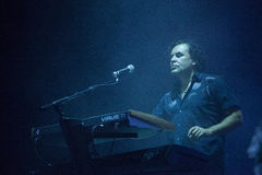 Depeche Mode Live - Peter Gordeno Stock Images