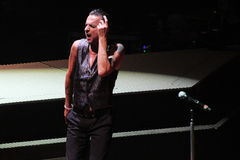 Depeche Mode - The Machine Tour 6 Stock Photography