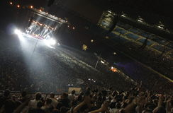depeche żywy Milan tryb Obraz Royalty Free
