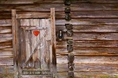 Dependência idílico com símbolo do coração e lâmpada da gasolina imagens de stock royalty free