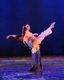 Depend on-The dance drama The legend of the Condor Heroes. In December 2, 2014, a large Chinese dance drama the legend of the Condor Heroes for the first time to Royalty Free Stock Photography
