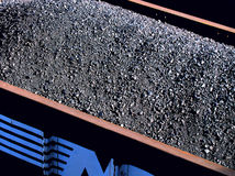 Less Dependance on Middle East. We are ready. Coal production is up and oil dependence is going down. This is an abstract of a coal car full of this great royalty free stock photos