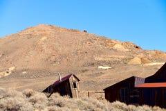 Dependencia en el pueblo fantasma fotografía de archivo libre de regalías