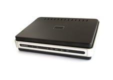depeszujący sieć szerokopasmowa router Zdjęcia Stock