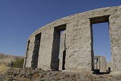 _depilcate WASHINGTONS STATE/USA stonehenge Stockbilder