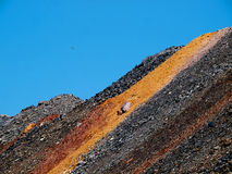 Depleted iron ore Stock Photography