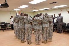 Military reunion Stock Photos