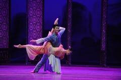 Depois que ato do again-The da reunião do desastre terceiro de eventos do drama-Shawan da dança do passado foto de stock