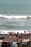 Depok beach Royalty Free Stock Image