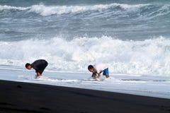 Depok beach Royalty Free Stock Photography