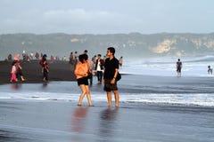 Depok beach Stock Photos