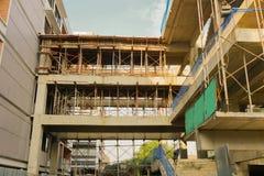 Depok rentré par photo en construction de construction Jakarta Indonésie Photo stock