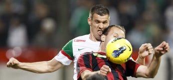 deponować pieniądze Budapest ftc honved ligowego otp vs Fotografia Stock