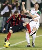 deponować pieniądze Budapest ftc honved ligowego otp vs Fotografia Royalty Free