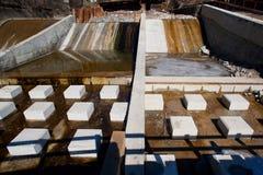 deponować pieniądze budowy rzekę Zdjęcie Stock