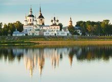 deponować pieniądze kościelną starą rzekę Obraz Royalty Free