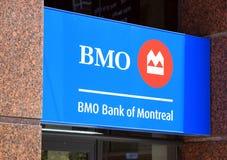 deponować pieniądze Montreal Obrazy Stock