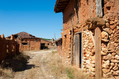 Depopulated village Royalty Free Stock Photos