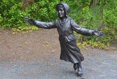 Deportaci rzeźba Obraz Royalty Free