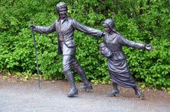 Deportaci rzeźba Zdjęcie Stock