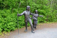 Deportaci rzeźba Zdjęcia Royalty Free